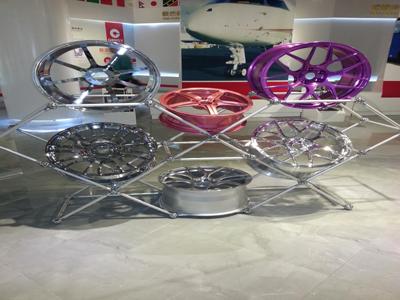 铝合金轮滚锻造悬压预锻模具